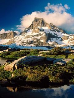 Качай красоту альпийских гор себе на смартфон